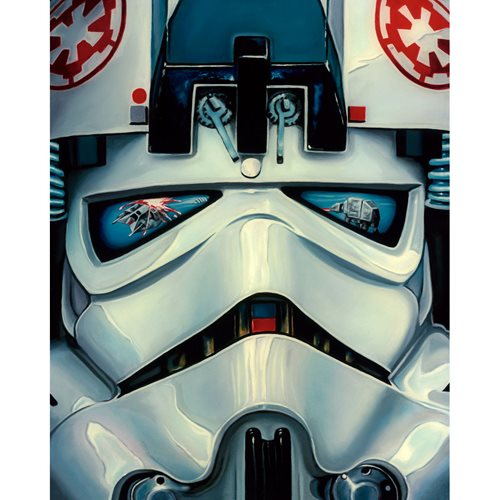 Star Wars AT-AT Driver by Christian Waggoner Canvas Giclee
