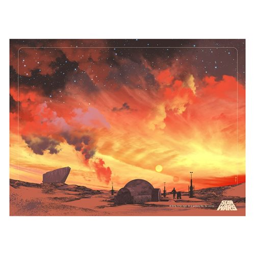 Star Wars Binary Sunset by Guy Stauber Lithograph Art Print