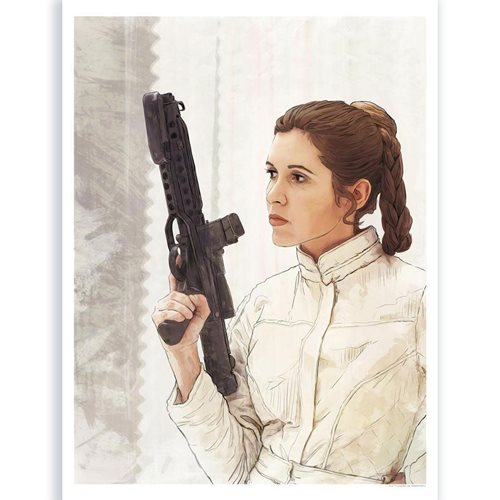 Star Wars: The Empire Strikes Back Royalty Lithograph Print