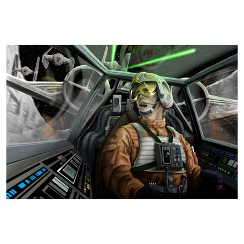 Star Wars Baptism by Fire Canvas Giclee Print