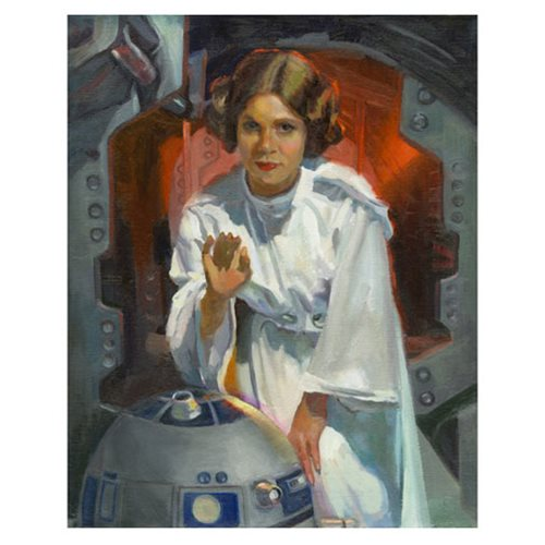 Star Wars My Only Hope Canvas Giclee Art Print