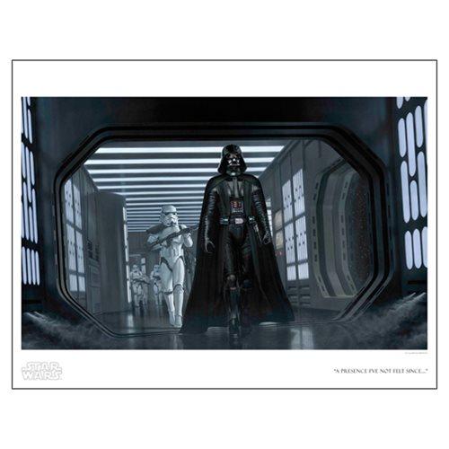 Star Wars A Presence I've Not Felt Since by Jerry Vanderstelt Paper Giclee Art Print