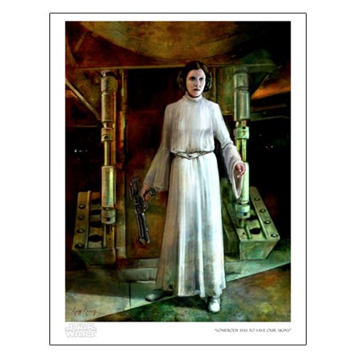 Star Wars Somebody Has to Save Our Skins Paper Giclee Print
