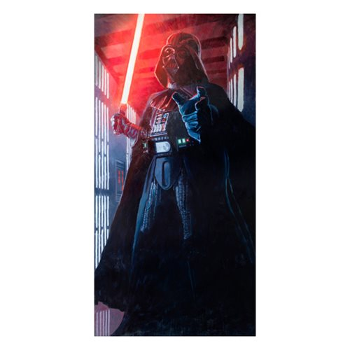 Star Wars Confronting Vader Canvas Giclee Art Print
