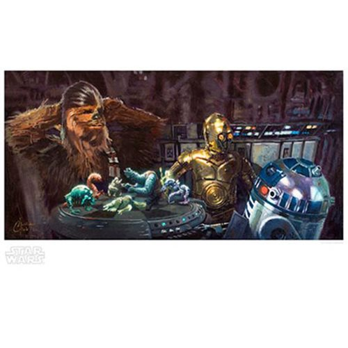Star Wars Let the Wookiee Win Paper Giclee Art Print