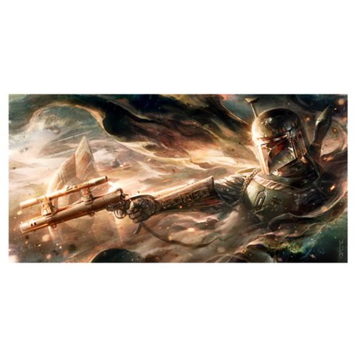 Star Wars Ghost in the Wind Small Canvas Giclee Art Print