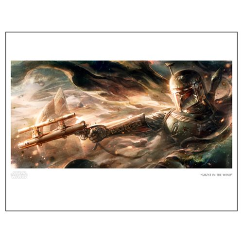 Star Wars Ghost in the Wind Paper Giclee Art Print