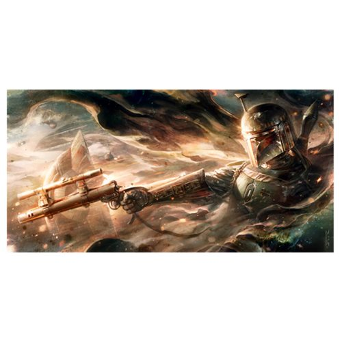 Star Wars Ghost in the Wind Large Canvas Giclee Art Print