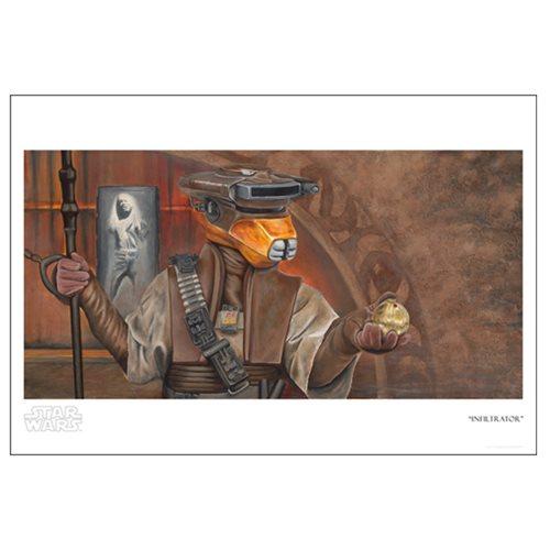 Star Wars Infiltrator Paper Giclee Print