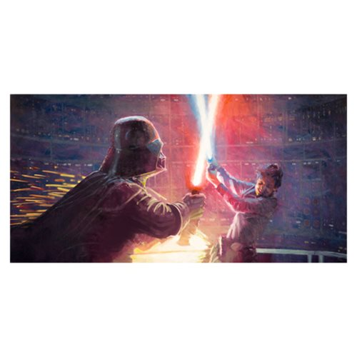 Star Wars Not a Jedi Yet by Christopher Clark Canvas Giclee