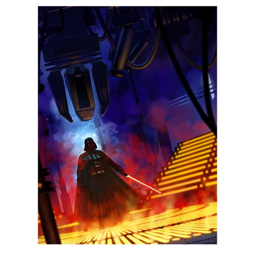 Star Wars Lurking Lineage by Jeremy Saliba Lithograph Print