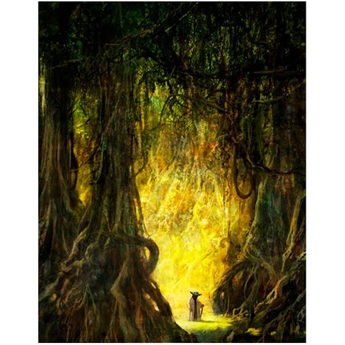 Star Wars Morning Stroll by Cliff Cramp Canvas Giclee Print