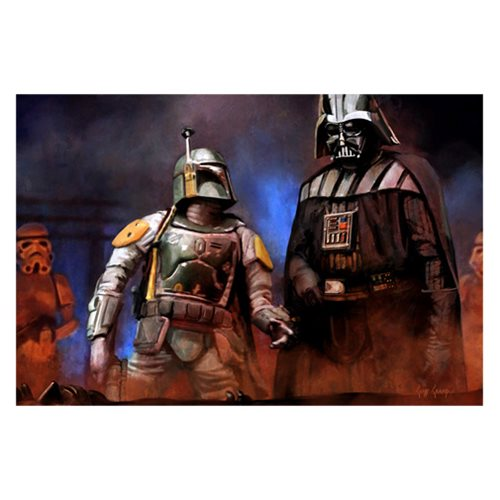 Star Wars No Good to Me Dead by Cliff Cramp Canvas Print