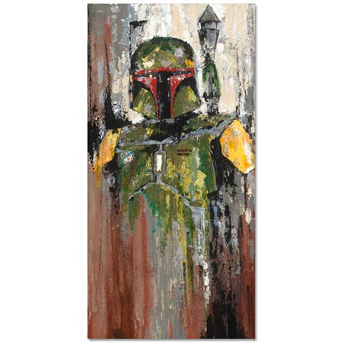 Star Wars Boba Fett Son of Jango Canvas Giclee Print
