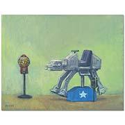 Star Wars AT AT Walker Arcade 1980 Canvas Giclee Print