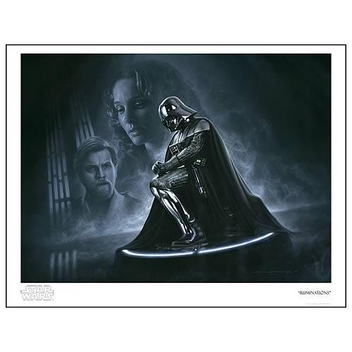 Star Wars Ruminations Paper Giclee Print