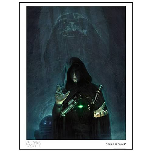 Star Wars Knight of Passage Paper Giclee Print