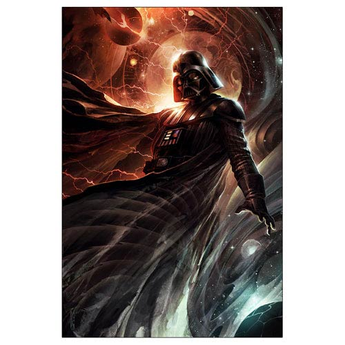 Star Wars Darth Vader Center of the Storm Canvas Giclee