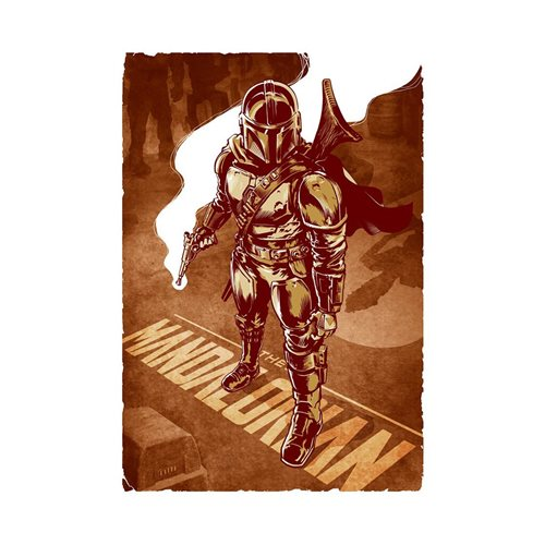 Star Wars: The Mandalorian This Is The Way Lithograph Print