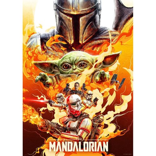 Star Wars: The Mandalorian Redemption Lithograph Art Print