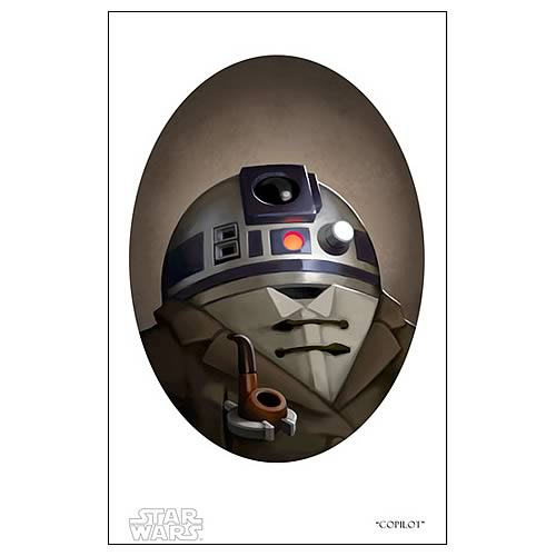 Star Wars Copilot Paper Giclee Print