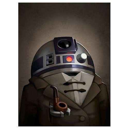 Star Wars Copilot Canvas Giclee Print