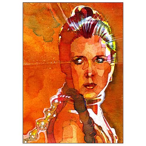 Star Wars Princess Leia Your Highness Paper Giclee Print