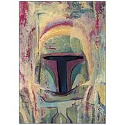 Star Wars Boba Fett Canvas Giclee Print