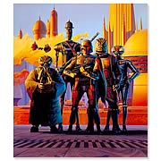 Star Wars Scourge of the Galaxy Bounty Hunter Giclee Print