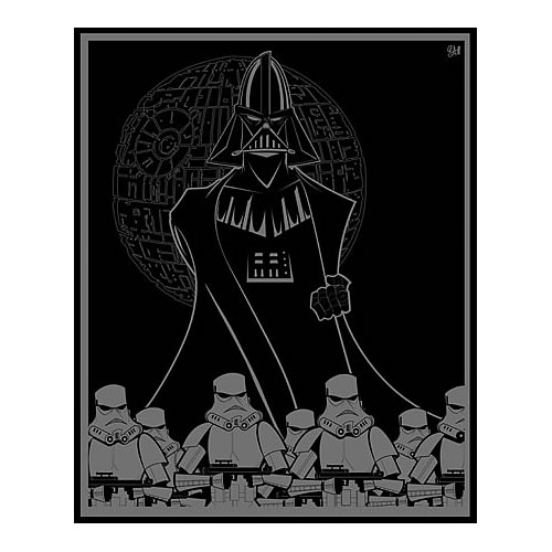 Star Wars Dark Lord Rising Canvas Giclee Print