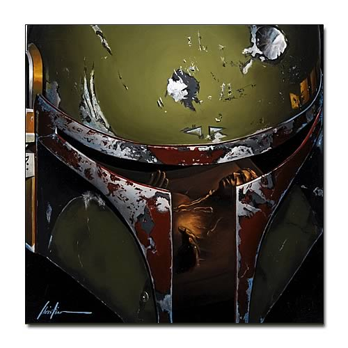 Star Wars Boba Fett Boba Giclee Print on Paper