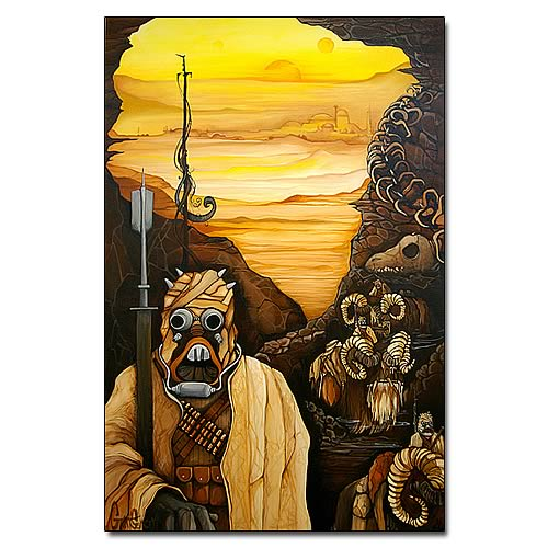 Star Wars Raiding Fort Tusken Giclee Print