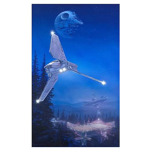 Star Wars Imperial Forest Paper Giclee Print