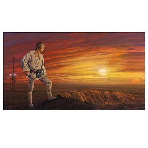 Star Wars Destiny Awaits Paper Giclee Print