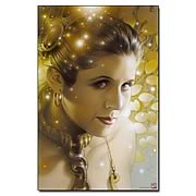 Star Wars Lovely Leia Paper Giclee Print