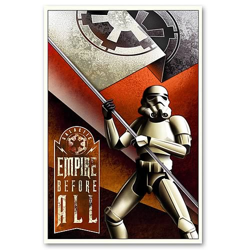 Star Wars Empire Before All Ltd. Edition Paper Giclee Print