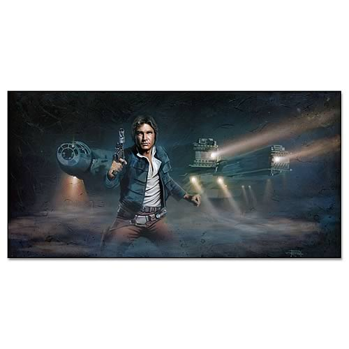 Star Wars Han Solo Limited Edition Paper Giclee Print