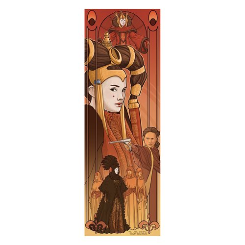 Star Wars Queen Amidala by Karen Hallion Lithograph Print