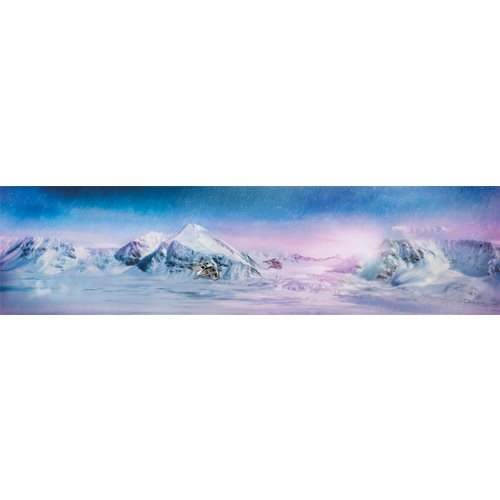 Star Wars Daybreak on Hoth Gallery-Wrapped Canvas Print