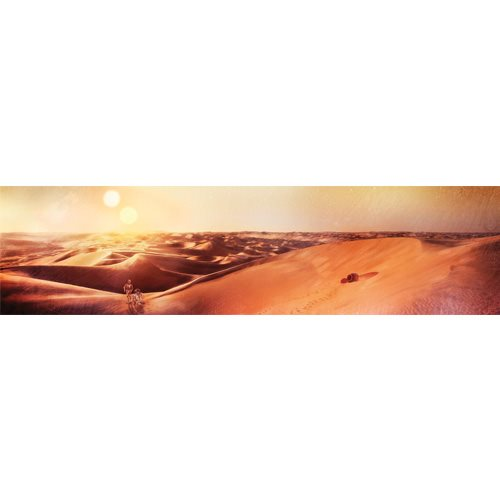 Star Wars Tatooine Sunset Gallery-Wrapped Canvas Art Print