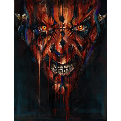 Star Wars Darth Maul by Robert Bruno Canvas Giclee Art Print