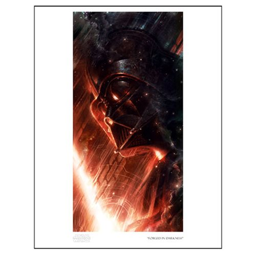 Star Wars Forged in Darkness Paper Giclee Art Print