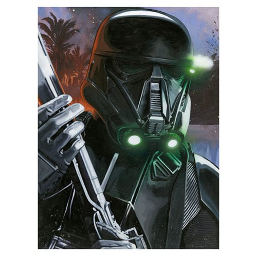 Star Wars Rogue One Death Trooper Canvas Giclee Art Print