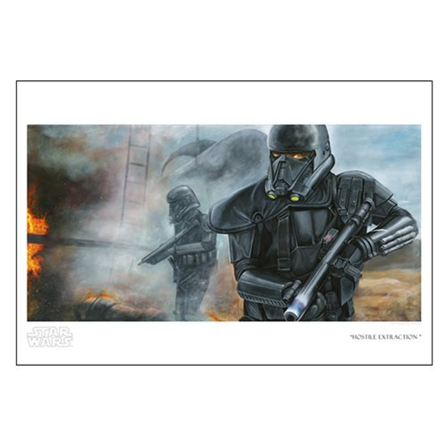 Star Wars Hostile Extraction by Greg Lipton Paper Giclee