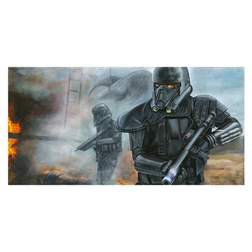 Star Wars Hostile Extraction by Greg Lipton Canvas Giclee
