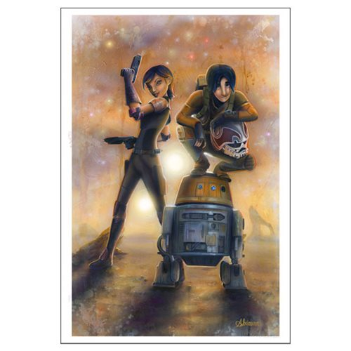 Star Wars: Rebels by Adrianna Vanderstelt Paper Giclee Print