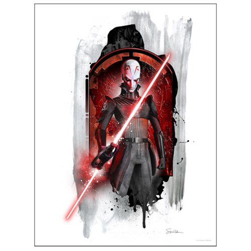 Star Wars Rebels Inquisitor by Steve Anderson Lithograph