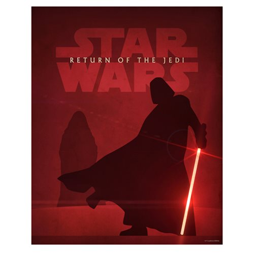 Star Wars Episode VI Return of the Jedi Lithograph Art Print
