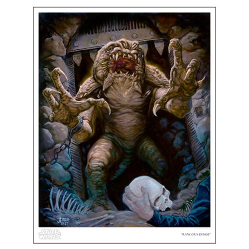Star Wars Rancor's Demise by Jaime Carrillo Paper Giclee