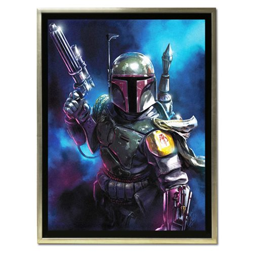 Star Wars From the Shadows by Santi Casas Framed Canvas